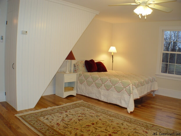 Sloped Ceilings In Bedroom