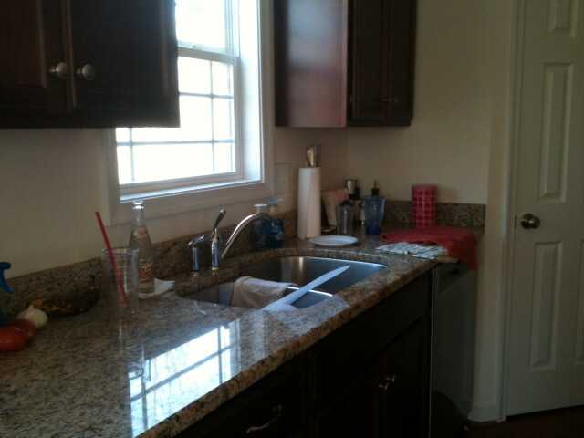 The Before Backsplash