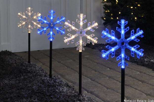 Pathway Holiday Lights