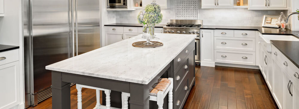 Kitchen Counter Marble white marble kitchen islands Marble Countertop Maintenance