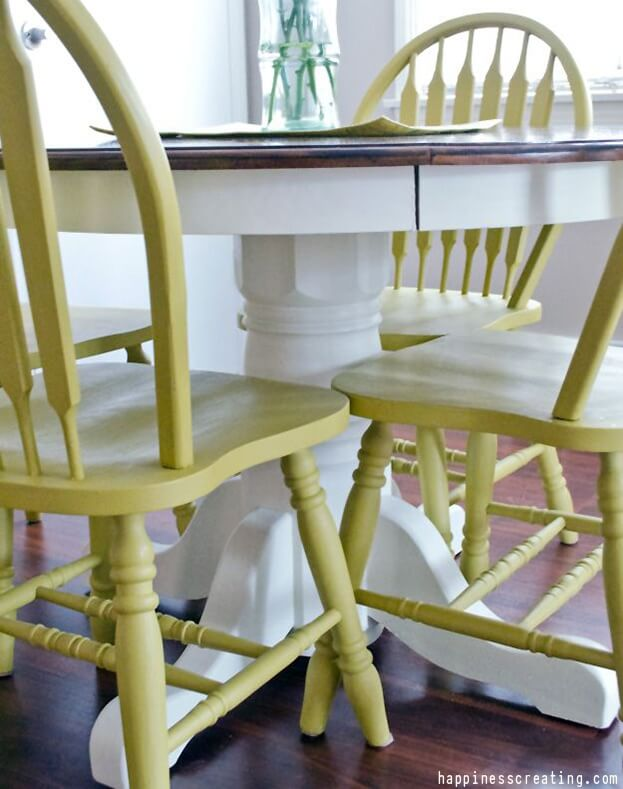 Repainted Chairs