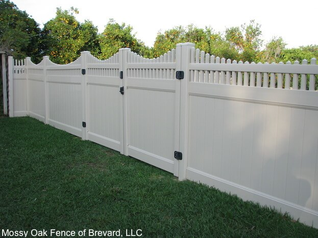 White Wood Fencing Whi...