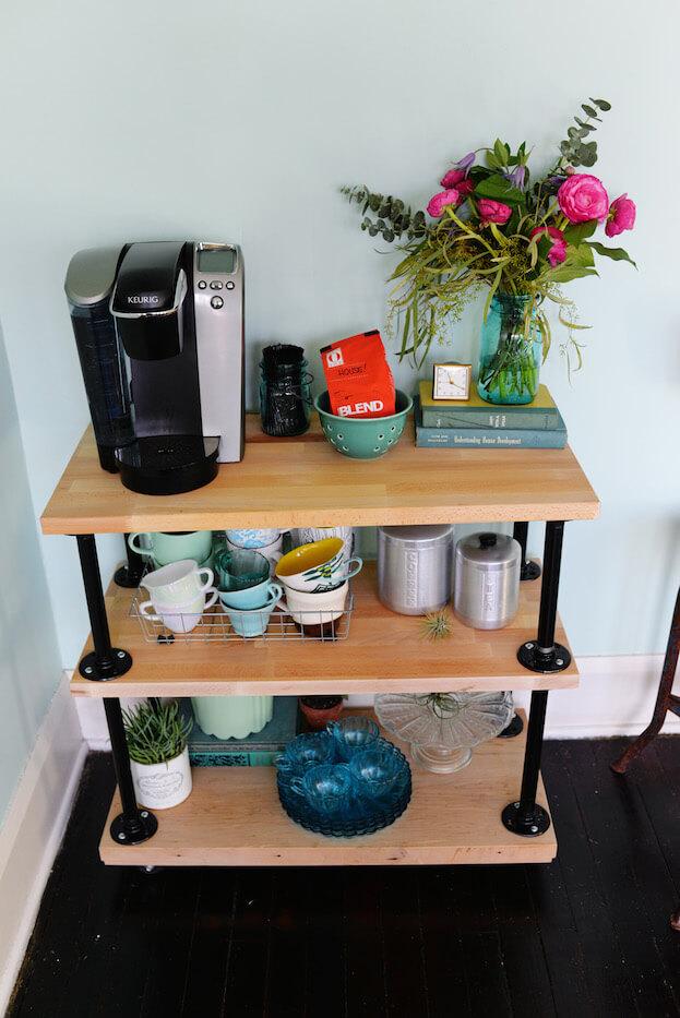 DIY Coffee Cart