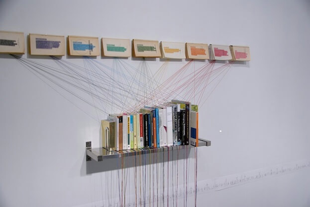 Imagine A Bookcase As An Art Installation