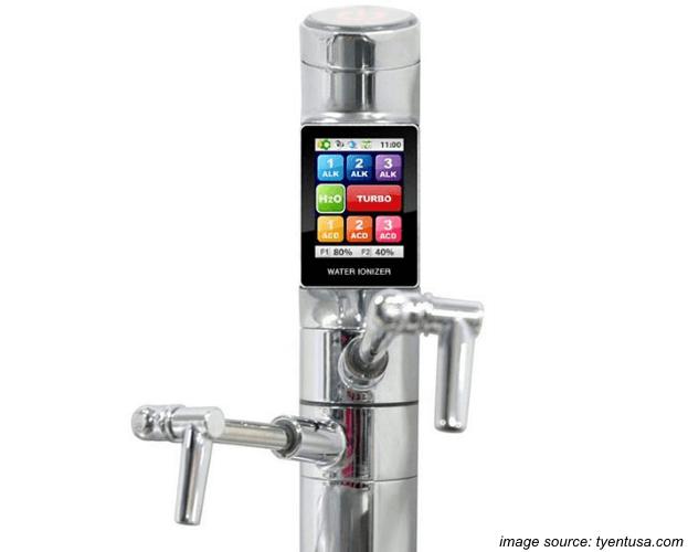 Touchscreen Faucet