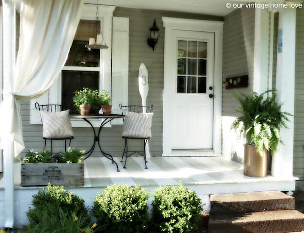 White Back Porch
