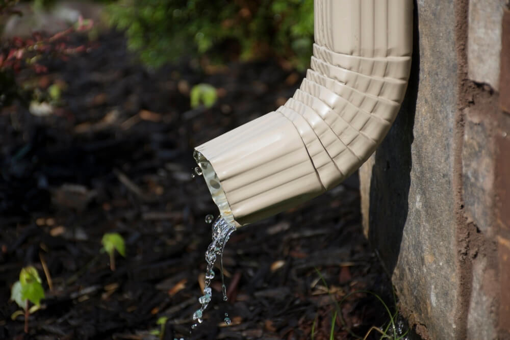 Flush Your Gutters And Downspouts