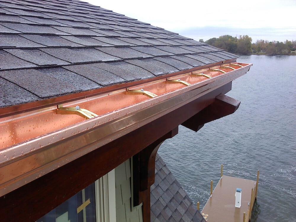 2017 Seamless Gutters Price Per Foot Cost Of Seamless