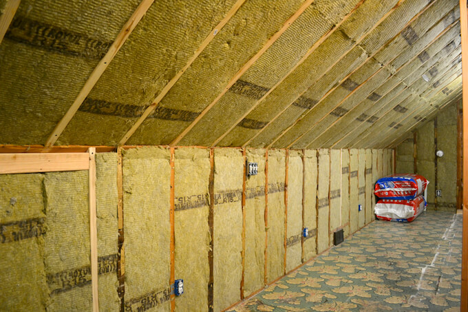 2017 attic insulation cost attic insulation types prices for Cost of mineral wool vs fiberglass insulation
