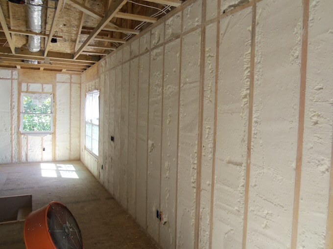 2017 Cost Of Spray Foam Insulation Insulation Installation