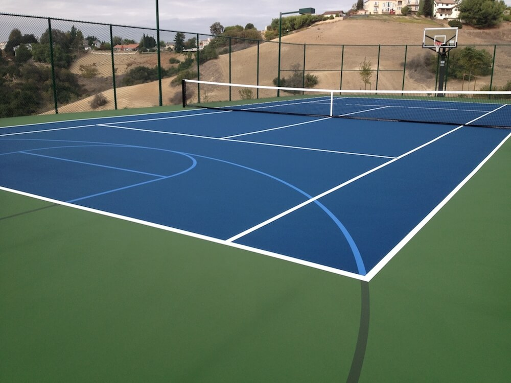 2017 tennis court cost cost to resurface a tennis court Cost to build basketball court