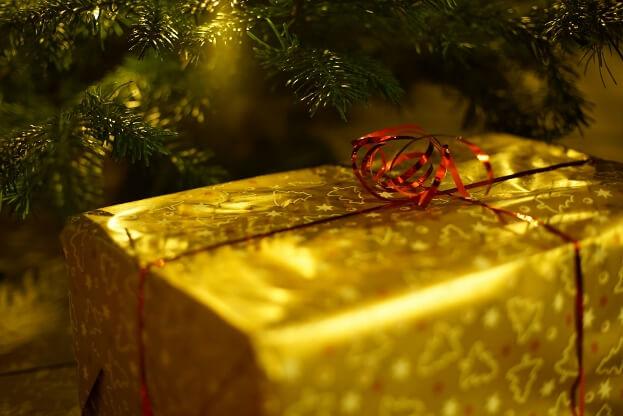 Christmas Gift Under Tree