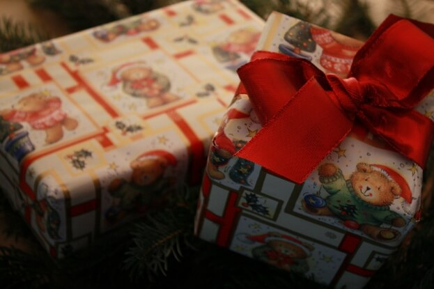 Christmas Gift With Bow