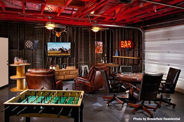 How To Create A Man Cave Garage | Garage Man Cave Ideas