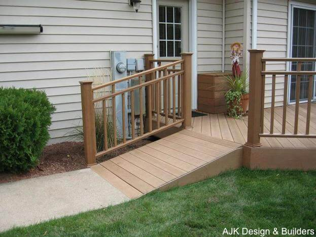 How to build a handicap ramp handicap ramp slope for Building a wheelchair accessible home