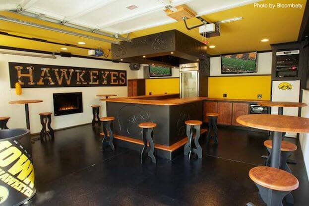 Garage Man Cave : How to create a man cave garage ideas