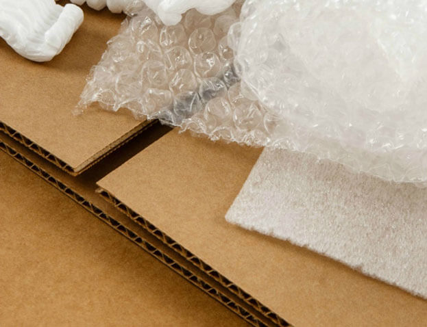 Moving Supplies and Bubble Wrap