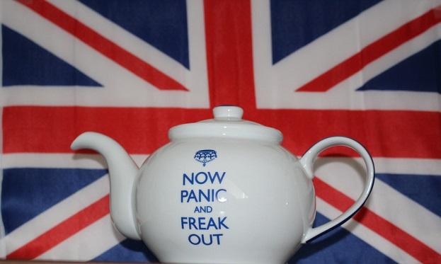 Brexit Panic Teapot