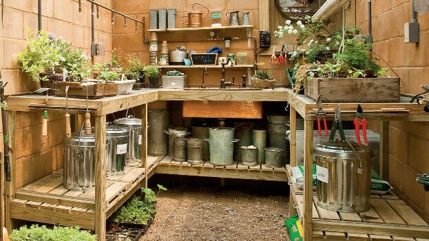 Organize Your Potting Area