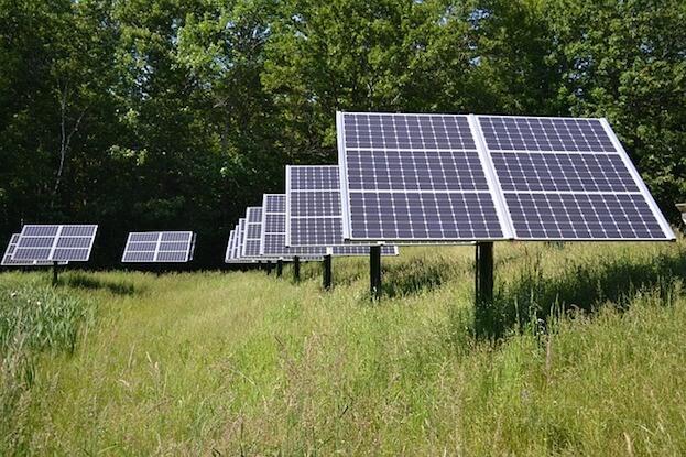 Solar Energy Versus Fossil Fuels