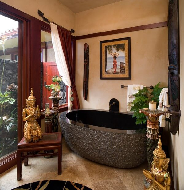 Simple 70 small bathroom asian design decorating design of asian style bathrooms hgtv - Oriental bathroom decor ...