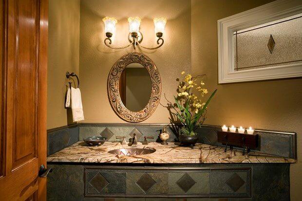 stunning bathroom backsplash ideas - Backsplash In Bathroom