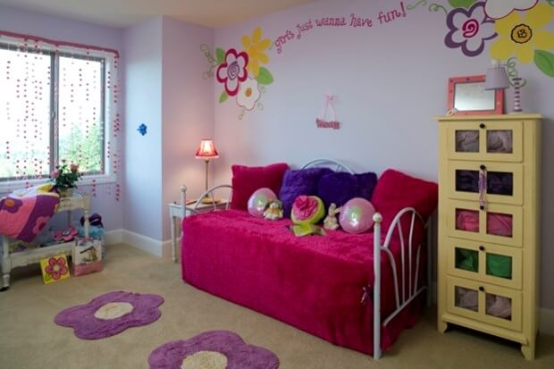 Bedroom Décor Ideas For Girls