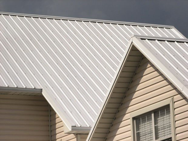 Create an energy efficient home with a cool metal roof for Efficient roofing