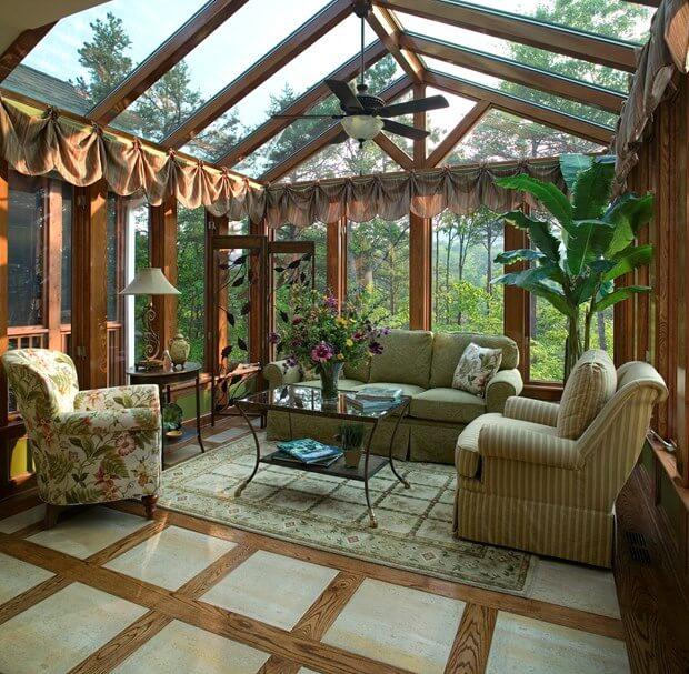 Diy tips for sunroom additions how to build a sunroom for Solarium room additions
