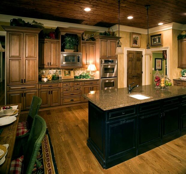 Most popular granite colors for kitchen countertops for Most popular kitchen countertops