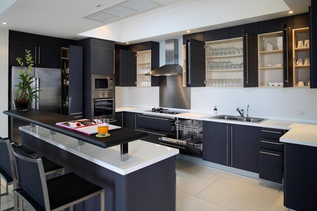 5 Common Features Of Kitchens Designed For Men