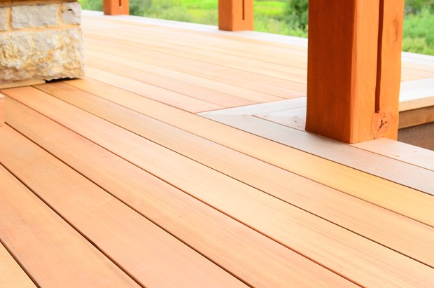 Cedar Decking Costs & Benefits