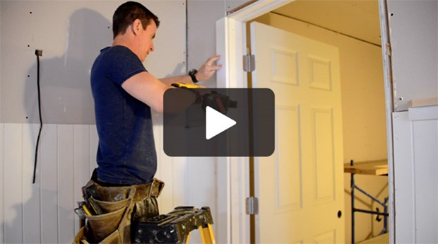 Video: How To Trim A Door