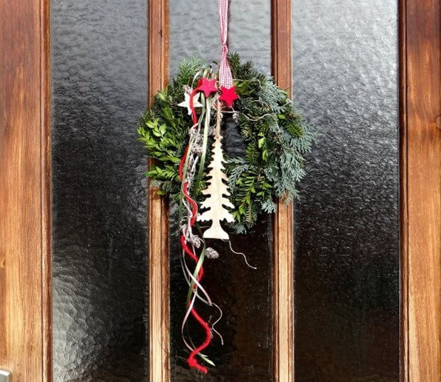 Winter Door Decorating Ideas