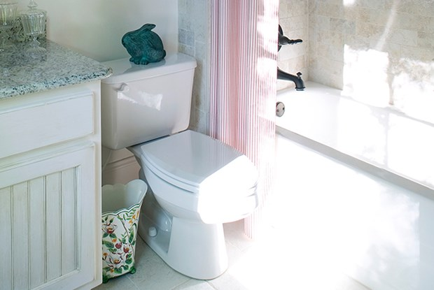 What to Do If Toilet Doesn't Fit After Installing Wainscotting