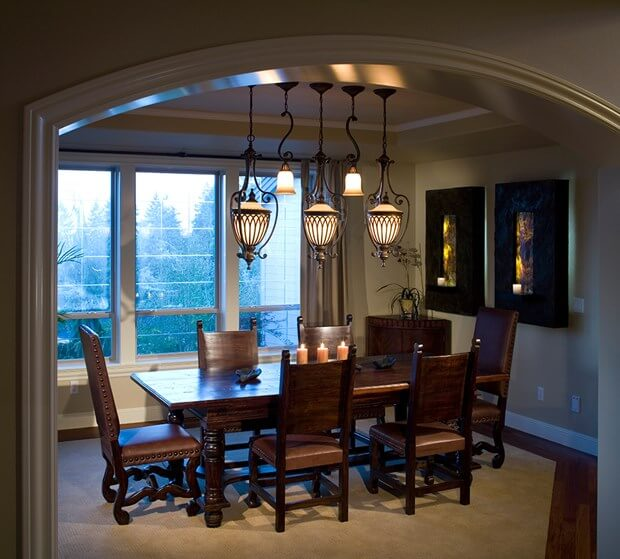 Foyer Dining Room : Dining room foyer lighting how to choose fixtures