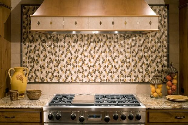 bold tile design ideas for your kitchen - Kitchen Tile Design Ideas
