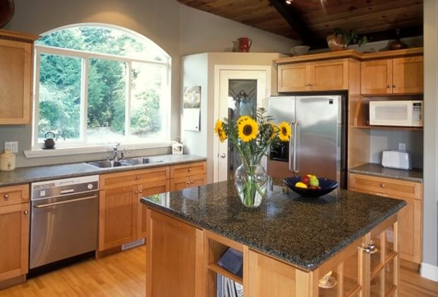 how to decorate a kitchen counter | kitchen countertops