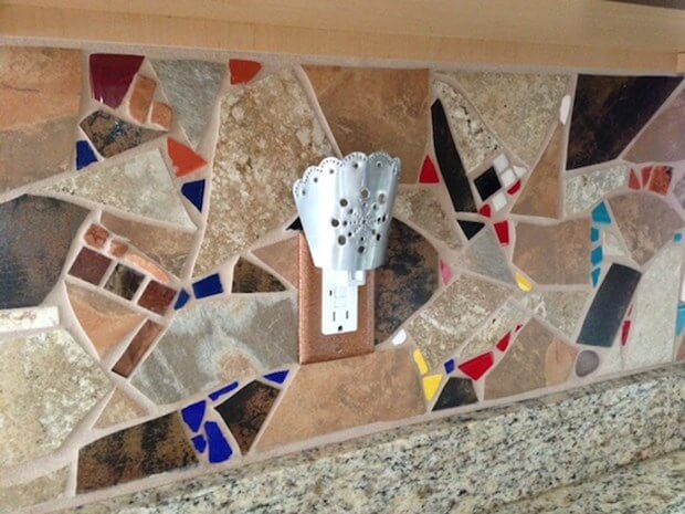 Before & After Photos: Creative Backsplash