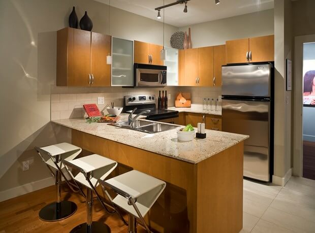 15 small kitchen designs you should copy kitchen remodel for Tiny kitchen remodel