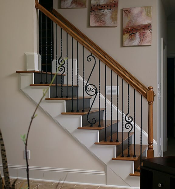 20 Attractive Painted Stairs Ideas: How To Paint Stairs