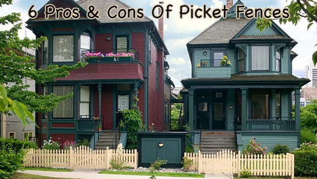 6 Pros And Cons Of Picket Fences