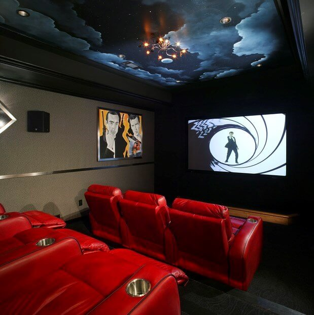 must haves for creating the ultimate basement home theater