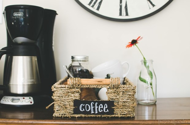 How To Create A Home Coffee Station