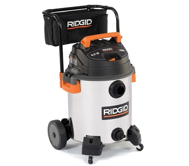Tool Review: Ridgid Wet-Dry Vacuum Model #WD1956
