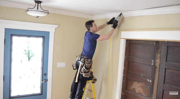 Video: How To Install Crown Molding