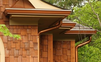 2017 Average Seamless Gutter Costs Price Per Foot