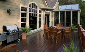 2017 Wood Deck Cost Per Square Foot Wooden Decking
