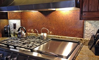 2017 copper backsplash costs types of copper backsplashes