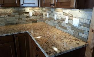images of stone backsplash best home design